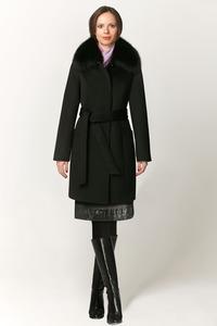 Короткое утепленное зимнее пальто арт.604
