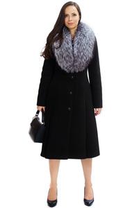 Расклешенное приталенное пальто арт.201