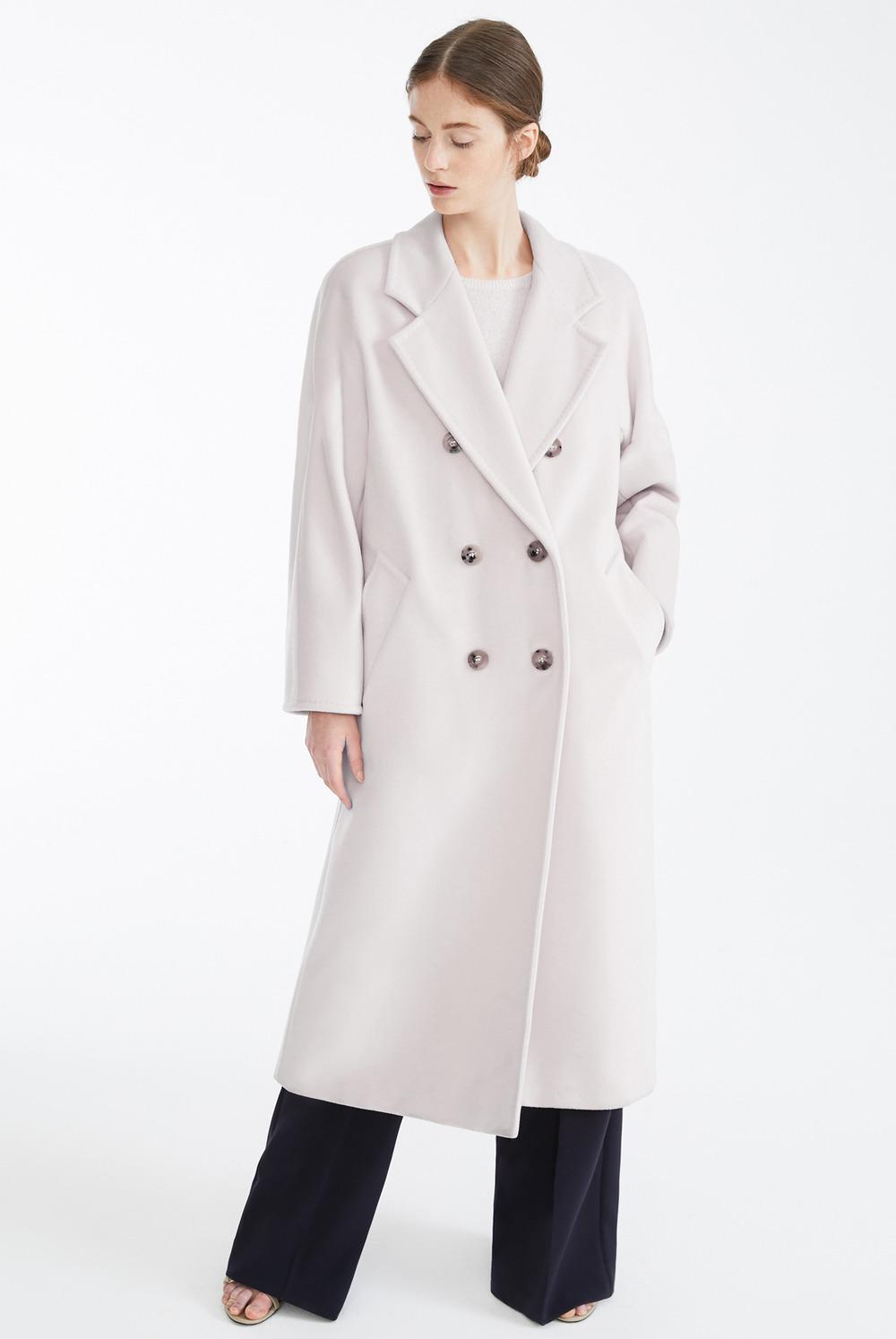 Пальто халат из итальянской шерсти арт.302