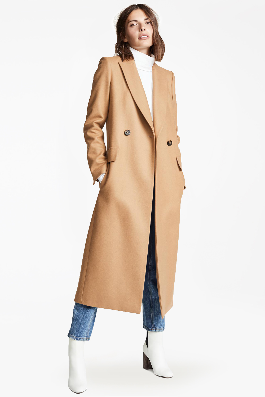 Женское бежевое пальто халат арт.401