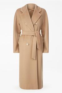 Женское шерстяное пальто халат арт.301
