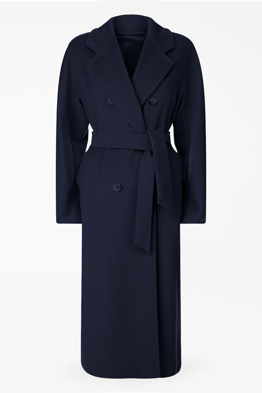 Пальто из премиальной шерсти - под заказ арт.402