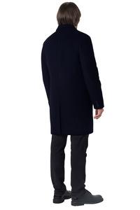 Мужское синее зимнее пальто арт.201