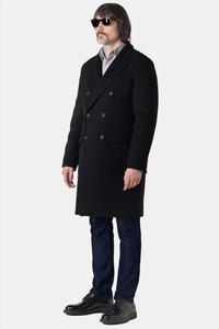 Классическое мужское двубортное пальто арт.101