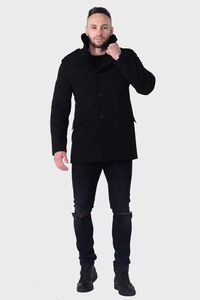 Мужское зимнее пальто арт.404
