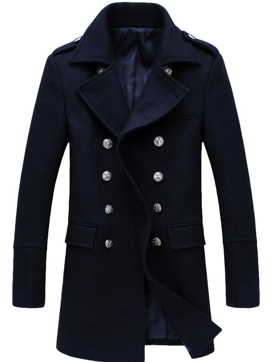 Мужское зимнее пальто бушлат арт.303