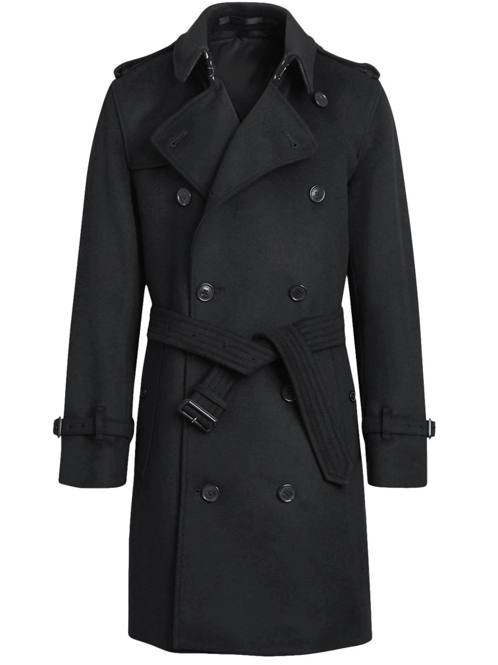 Мужское зимнее пальто тренч арт.204